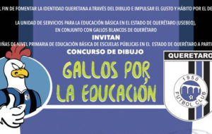 GALLOS BLANCOS Y USEBEQ INVITAN A PARTICIPAR EN CONCURSO DE DIBUJO