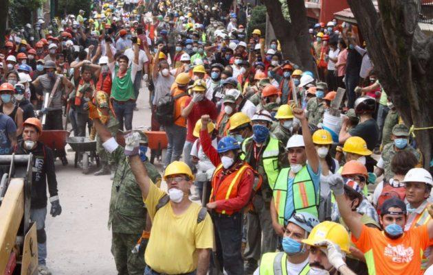 ATIENDE CRUZ ROJA A 43 HERIDOS TRAS EL SISMO; 3 DE ELLOS EN SITUACIÓN GRAVE