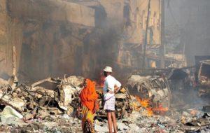 COMIENZAN FUNERALES DE VÍCTIMAS DEL PEOR ATENTADO EN SOMALIA