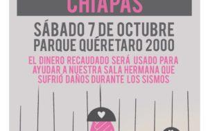ESGRIMA QUERÉTARO CAMBIA FECHA DEL EVENTO A BENEFICIO DE CHIAPAS.