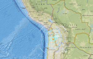 SISMO DE 6.3 SACUDE A CHILE Y PERÚ