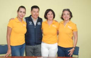 """Presentan 2ª edición de la carrera """"LEO"""" en el Parque Bicentenario."""