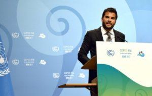 MÉXICO PIDE EN COP23 ACTUAR CON URGENCIA SOBRE CAMBIO CLIMÁTICO