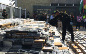 ASESTA COLOMBIA MAYOR DECOMISO DE COCAÍNA DE SU HISTORIA