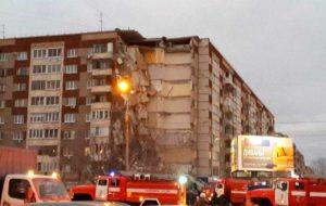 COLAPSA EDIFICIO EN RUSIA; HAY AL MENOS 4 MUERTOS