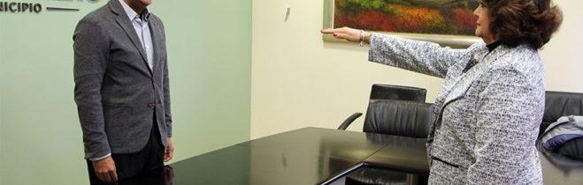 MARCOS AGUILAR VEGA, TOMÓ PROTESTA A MARÍA ELENA ADAME TOVILLA COMO NUEVA SECRETARIA DE ADMINISTRACIÓN.