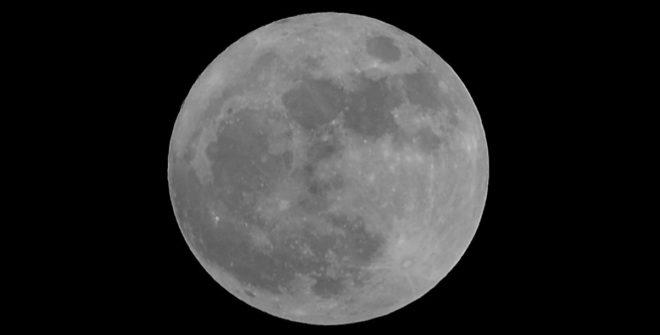 El 2018 inicia con la primera Superluna del año