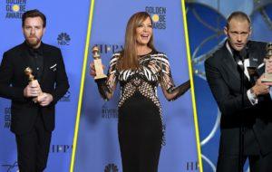 🏆 Ellos son los ganadores de los Golden Globes 2018