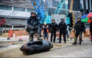 DESACTIVAN BOMBA DE LA SEGUNDA GUERRA MUNDIAL EN HONG KONG.